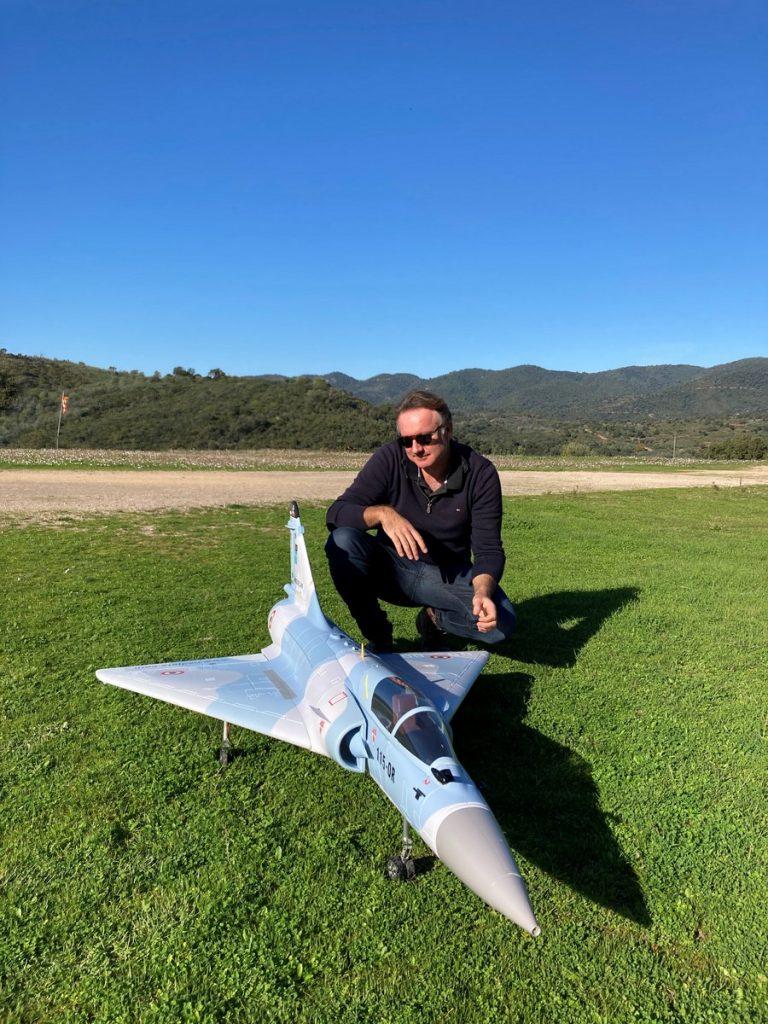 Guillaume et son Mirage 2000 HSD